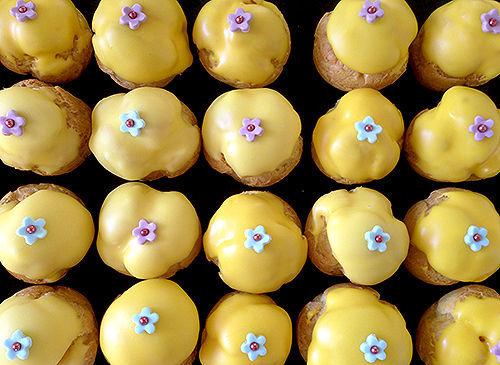 b comme bon, choux citron, blog cuisine