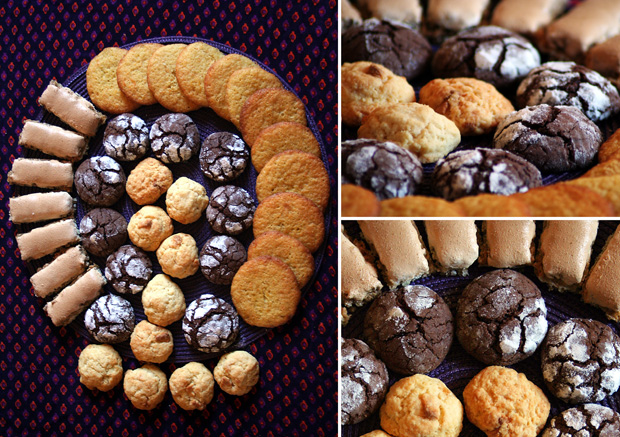 photo d'assortiment de biscuits